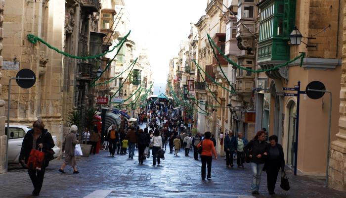 Republic Street, Valletta, Malta