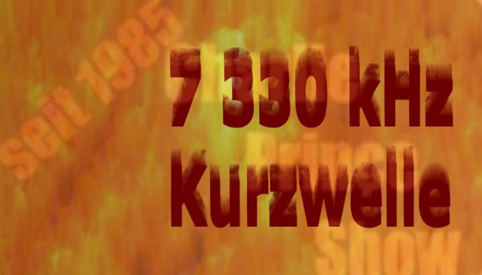 JOY auf 7330 kHz Kurzwelle